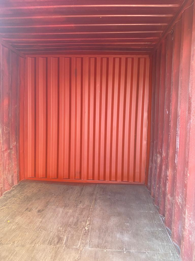 10ft Used Container for sale in red Internal for sale