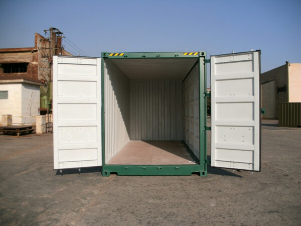 20ft High Cube Container Side Access for sale UK OPEN Doors