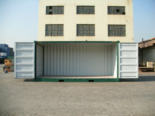 20ft High Cube Container for sale UK Side Access OPEN DOORS
