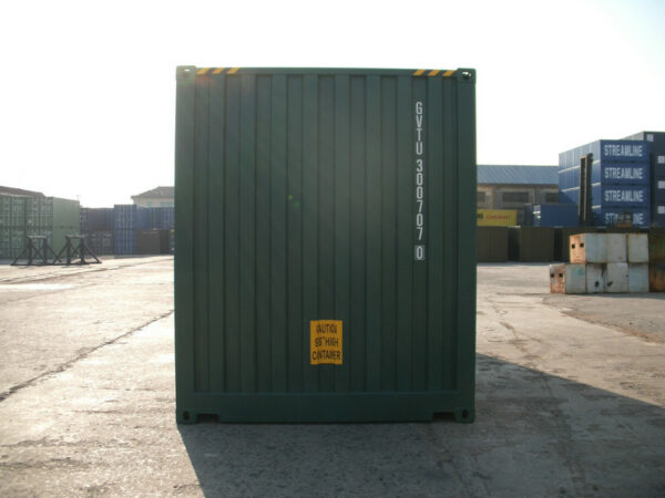 20ft High Cube Container side access for sale UK FRONT