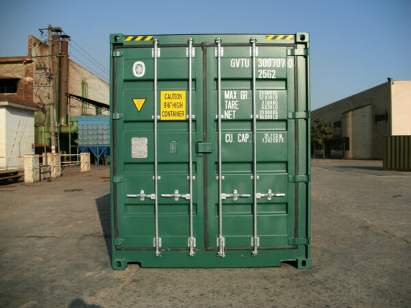 20ft High Cube Storage Containers for sale side access UK REAR