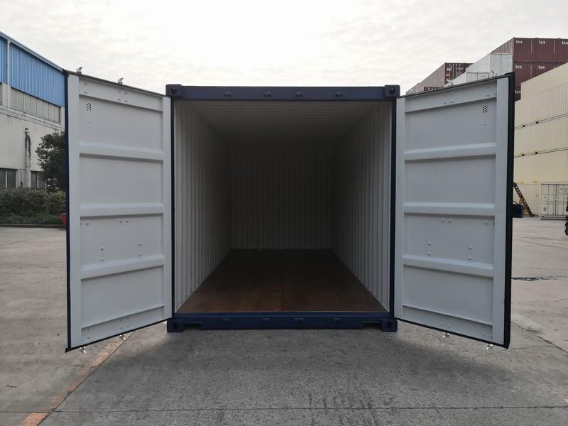 20ft New Container Blue Doors Open