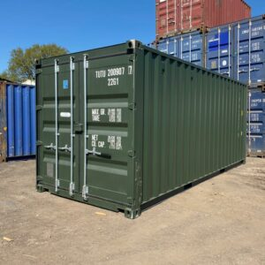 20ft New Containers for sale Green options UK