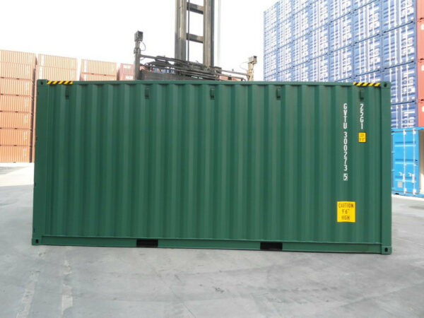 20ft New High Cube Container for sale UK in Green