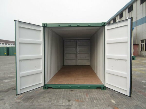 20ft New Tunnel Container for sale UK in Green