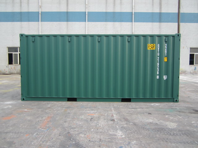 20ft New Tunnel Container for sale UK left side