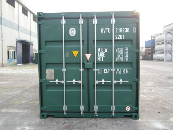 20ft New Tunnel Steel Container for sale UK front