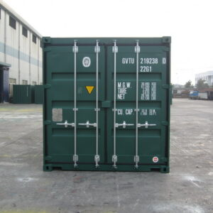20ft New Tunnel Storage Container for sale UK rear