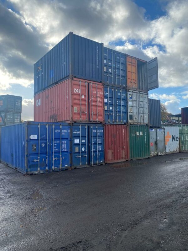 20ft Used Container for sale Birmingham Depot UK
