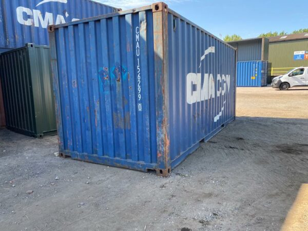 20ft Used Container for sale Blue