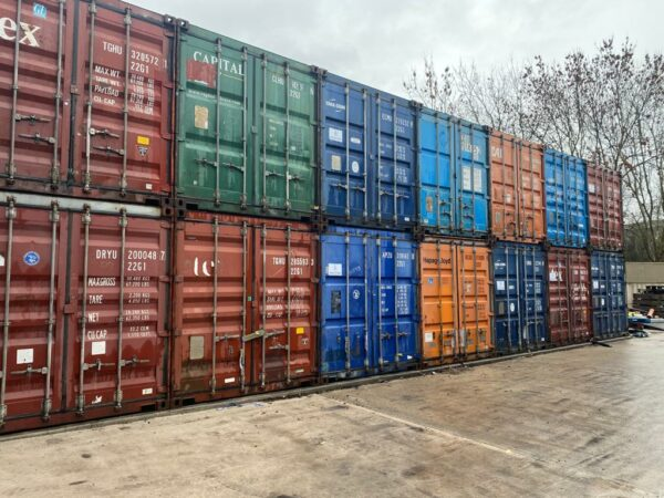 20ft Used Container for sale Depot Newcastle UK