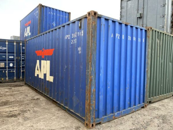 20ft Used Container in Blue for sale near me UK
