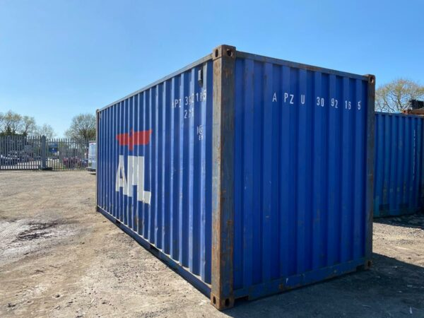 20ft Used Containers for sale Blue options