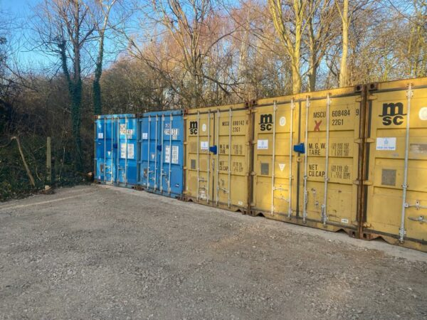 20ft Used Containers for sale Bristol UK Row