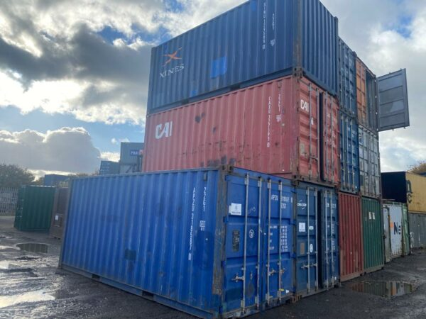20ft Used Containers for sale Leeds Depot UK