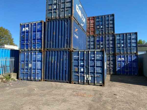 20ft Used Containers for sale Oxfordshire Stack