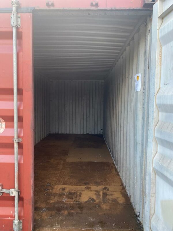 20ft Used Shipping Container for sale Internal Leeds UK