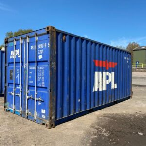 20ft Used Shipping containers for sale in Blue uk