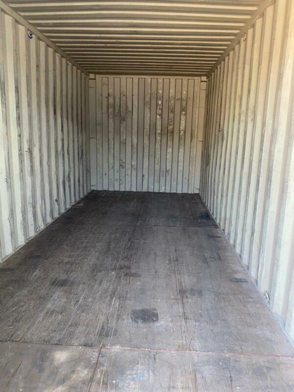 20ft Used Steel Container Kidderminster UK Internal