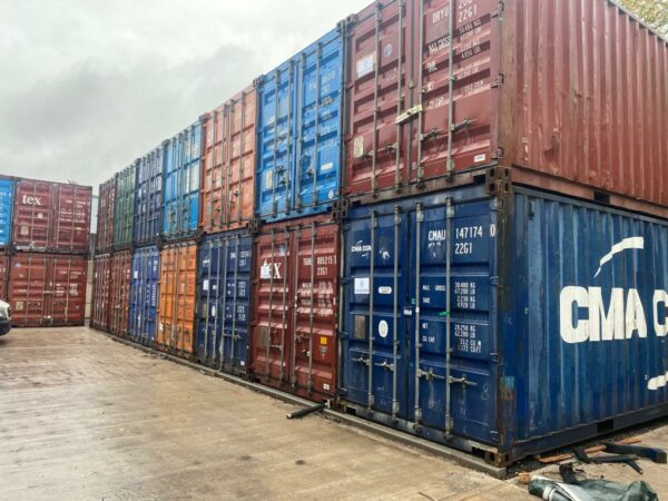 20ft Used Steel Containers for Sale Depot UK