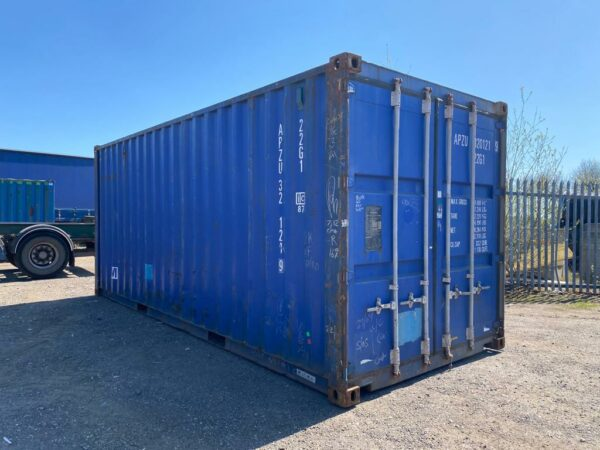 20ft Used Steel Containers for sale Blue UK company
