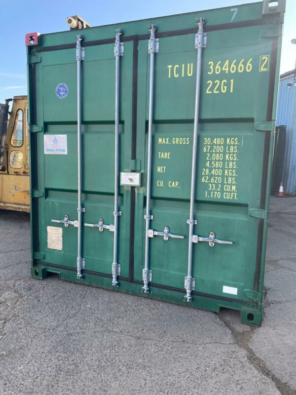 20ft Used Storage Container for sale Green London UK