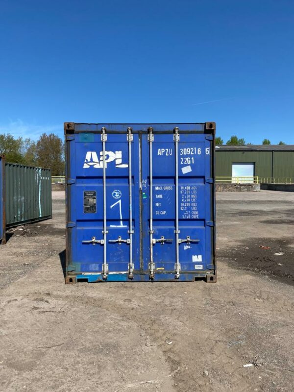20ft Used Storage Containers Doors Scotland