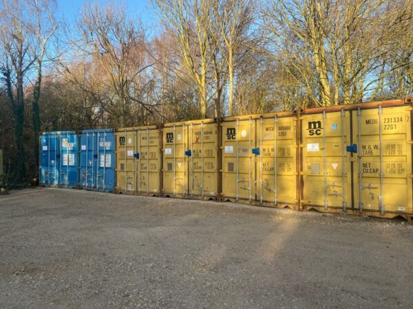 20ft Used Storage Containers for sale Southampton and UK Row