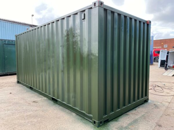 20ft Used container for sale Repainted Green near me