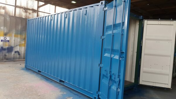 20ft Used container for sale rePainted in Blue UK