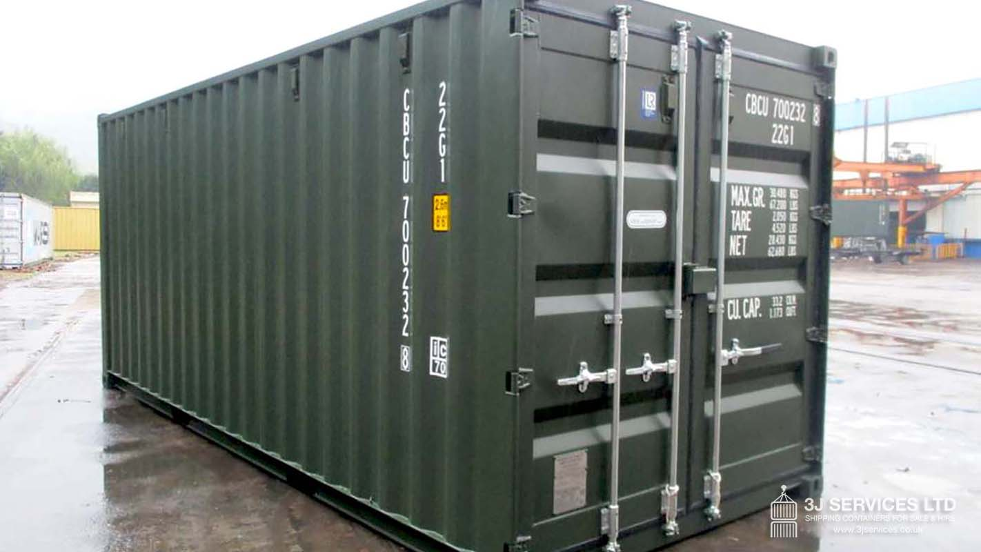 Leyton 20ft shipping container for sale in London