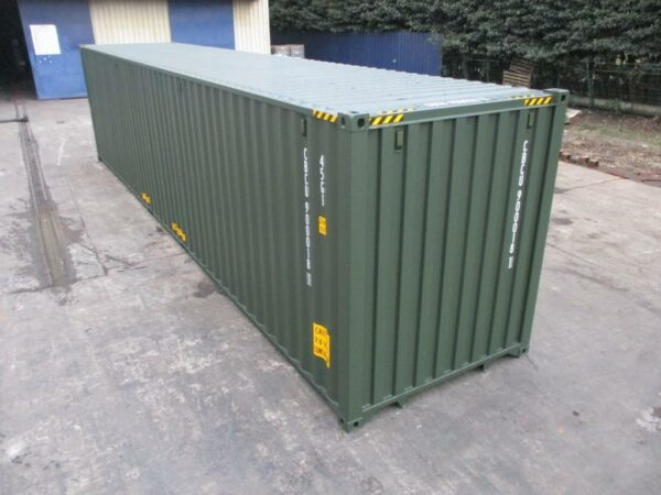 40ft New High Cube Containers for sale UK in Green near me