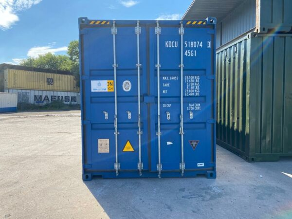 40ft New High Cube Steel Container for sale Doors
