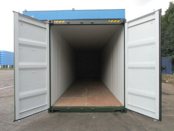 40ft New High Cube Storage Containers for sale Green in UK