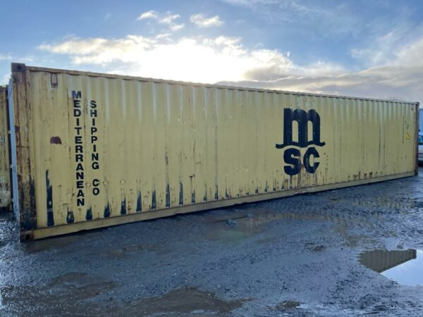 40ft Used Container for Sale Harvest Gold