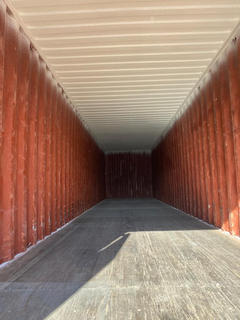 40ft Used Container for Sale Internal with Grafo-Therm