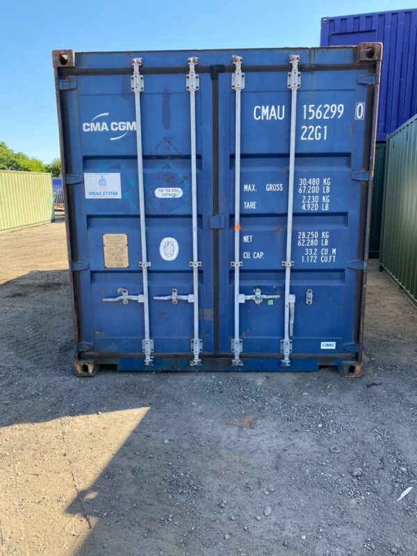 40ft Used Container for Sale UK Doors