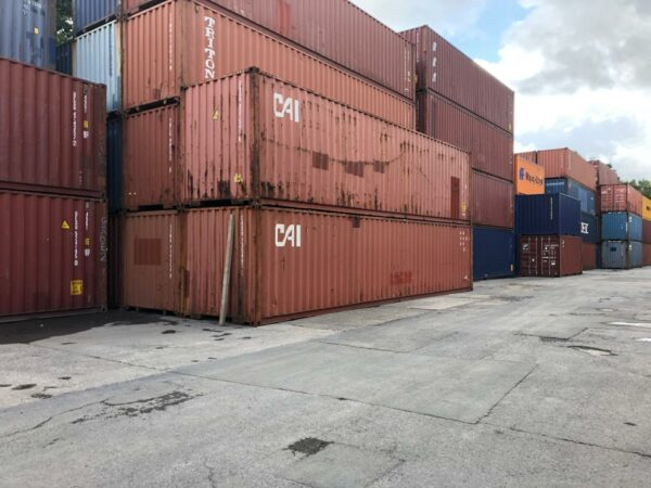40ft Used Containers for Sale Depo Stack