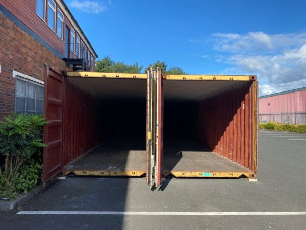 40ft Used Containers for Sale Internal with Grafo-Therm Pair
