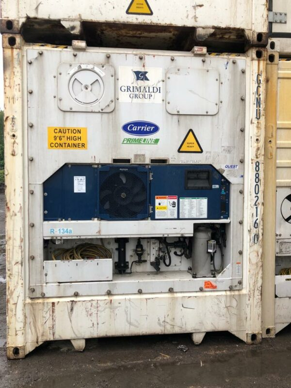 40ft Used Refrigerated shipping containers manchester uk