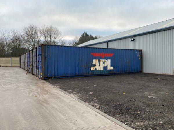 40ft Used Shipping Container for Sale Blue