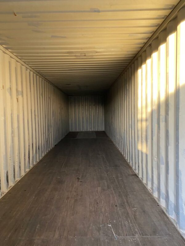 40ft Used Shipping Container for Sale Internal