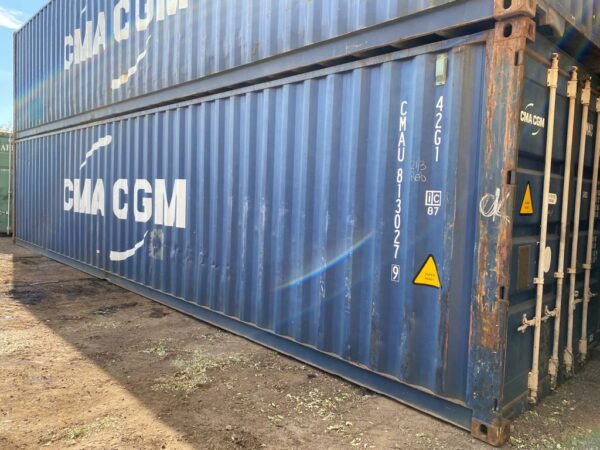 40ft Used Shipping Container for Sale UK in Blue