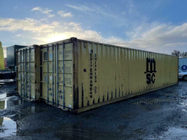 40ft Used Steel Container for Sale Harvest Gold