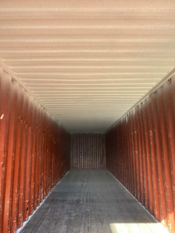 40ft Used Storage Container for Sale Internal with Grafo-Therm
