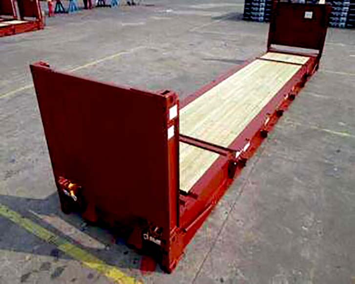 Flat Rack Containers For Sale