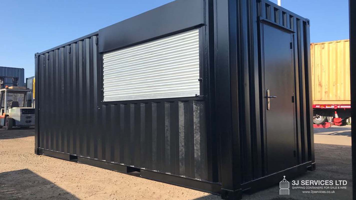 modified container for sale uk