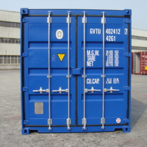 new 40ft container for sale UK rear