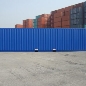 new 40ft steel container for sale UK left side