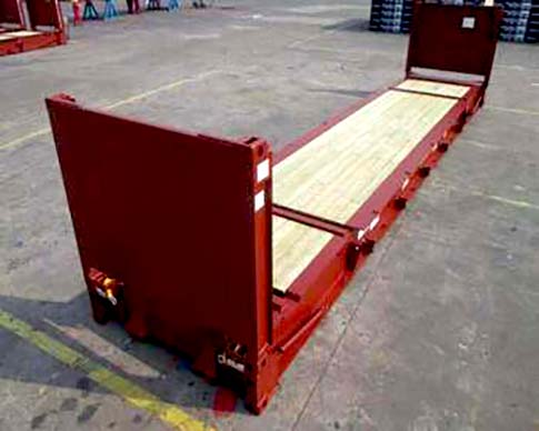 20ft flat rack container for sale uk